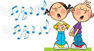 10695723-children-sing